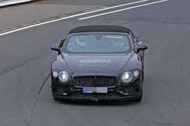 bentley convertible 2018 2018 bentley continental gt convertible shows wide stance on