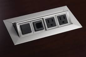conference table electrical accessories conference table power data video modules enhance your next meeting