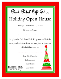 hcmc volunteer auxiliary to host holiday open house at pink petal