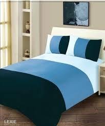 Duck Egg Blue Duvet Sets Inky Blue Jacquard Duvet Set Blue Gingham Duvet Cover Double Blue