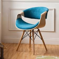 Teal Blue Accent Chair Corvus Contemporary Teal Blue Accent Chair Free Shipping