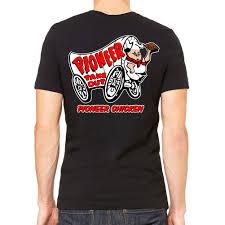 pioneer chicken pioneer chicken men s black t shirt merch method inc
