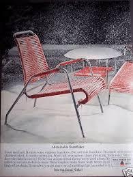 1960s Patio Furniture Vintage Decor Ad 4 Of 31 Gorgeous 1960s Retro Patio Chair A