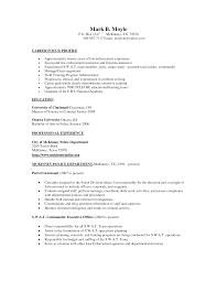 Sample Resume For Retired Police Officer by 100 Police Officer Resume Examples Resume Examples No