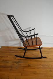 modern rocking chair ixtapa rocking chair white image of mid