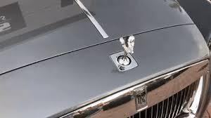 this is what happens if you try to a rolls royce ornament