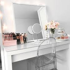 how to make vanity desk make up desks attractive diy vanity mirror with lights for bathroom