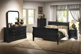 Louis Philippe Sleigh Bed Bedroom U2013 Pacific Imports Inc