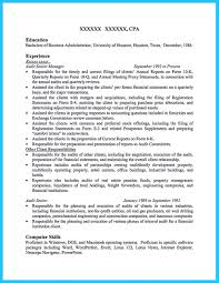 Senior Finance Executive Resume Making A Concise Credential Audit Resume