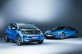 bmw supercar blue 2017 bmw i3 with i8 supercar motor trend