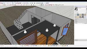 Home Design 3d Pro Modern Home Design Part 1 Sketchup Home Design Youtube
