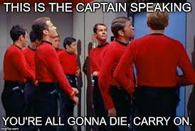Red Shirt Star Trek Meme - star trek red shirts memes imgflip