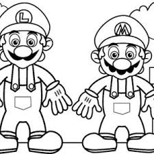 mario luigi coloring pictures periodic tables