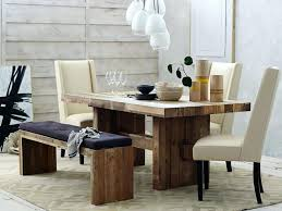 Large Kitchen Tables With Benches Dining Table Wood Benches For Dining Tables Table Bench Room