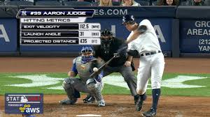 Aaron Judge Made His Mlb Debut In Center Field - aaron judge sets record with 13th home run mlb com