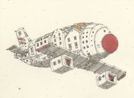 House Plane by House Plane By Mattias Adolfsson Airships From Above Pinterest