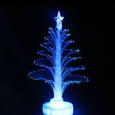 colorful led fiber optic tree light fluorescent