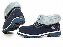 womens timberland boots uk cheap cheap timberland roll top boots blue with white wool