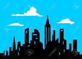 un background en html5 para halloween 21536034 graphic style cartoon city skyline illustration comic