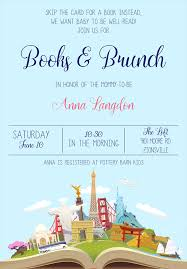 bring a book instead of a card wording 22 baby shower invitation wording ideas