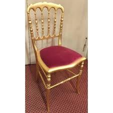 chaise dorée chaise style napoléon iii dorée sur moinat sa antiquités décoration