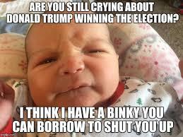 Winning Baby Meme - indignant infant imgflip