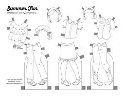 boy paper doll coloring pages virtren com