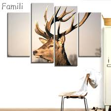 fake deer articles with white deer antlers wall decor tag antler wall decor