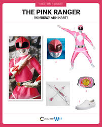 Pink Ranger Halloween Costume Dress Pink Ranger Costume Halloween Cosplay Guides