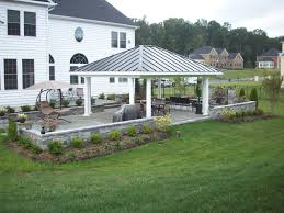 backyard pavilion plans ideas pictures image with awesome backyard