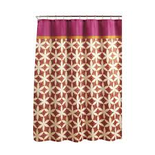 orange shower curtains shower accessories the home depot