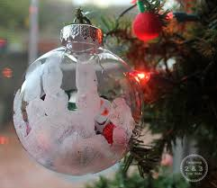 handmade fillable ornaments for