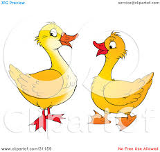 royalty free rf yellow duck clipart illustrations vector