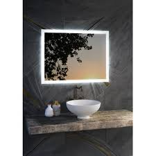 Led Lighted Mirrors Bathrooms Mirrors With Lights You Ll Wayfair
