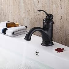 Bronze Bathtub Faucet Oil Rubbed Bronze Single Handle Centerset Bathroom Faucet 1039