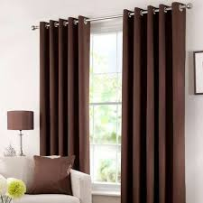 Chocolate Curtains Eyelet Solar Chocolate Blackout Eyelet Curtains Dunelm