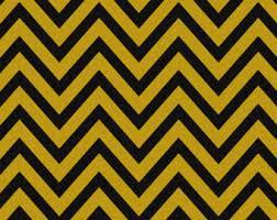 Yellow Home Decor Fabric Chevron Fabric Etsy