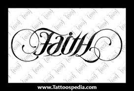 faith and hope ambigram tattoos designs 16