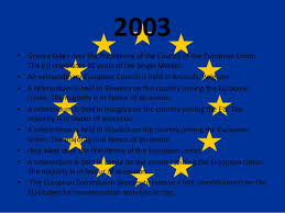 Council Of European Union History The History Of The European Union 2000 2009
