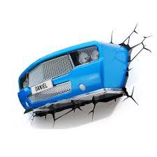 blue classic car 3d deco night light from 3dlightfx cars u0026 jet