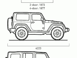 jeep rubicon 2017 2 door jeep wrangler dimensions auto express