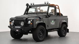 vintage land rover defender land rover defender gets startech u0027s idea of an autobiography trim