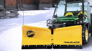 trailblazer utv v plow announced fisher engineering