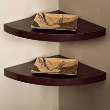 Corner Shelves For Bathroom Wall Mounted Decorating Corner Wall Shelves Together With Decorating