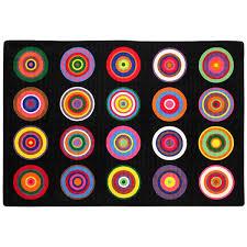 Pink And Black Rug Flagship Carpets Color Rings Black Pink Area Rug U0026 Reviews Wayfair