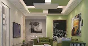 ceiling designs for living room with false gallery pictures