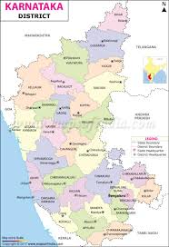 Gujarat Map Blank by District Map