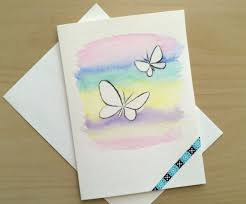 painted cards for sale 85 best painted watercolor cards images on