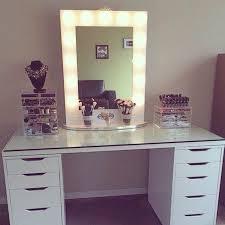 black makeup desk with drawers interior design black makeup vanity with lights white dressing