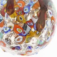 tree ornaments venetian mosaic murano glass